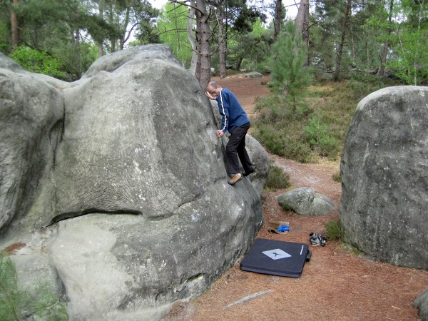 Font Timer Severe Climber