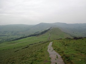 The path to Mam Tor.