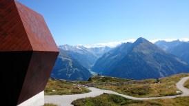 The Granatkapelle overlooking the peaks of the Zillertal.