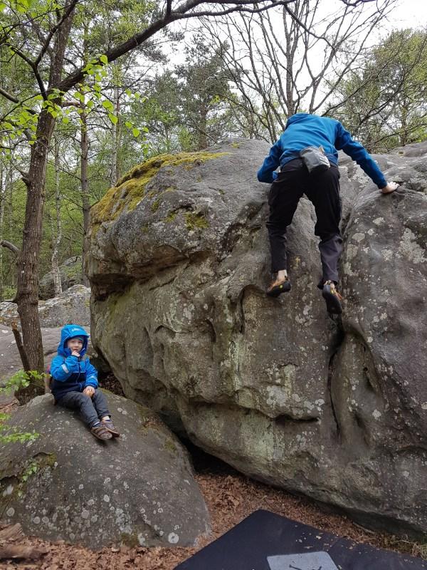 Fontainebleau France Rock Climbing