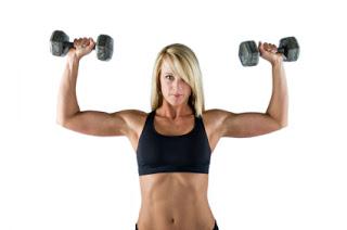 weights sholder press