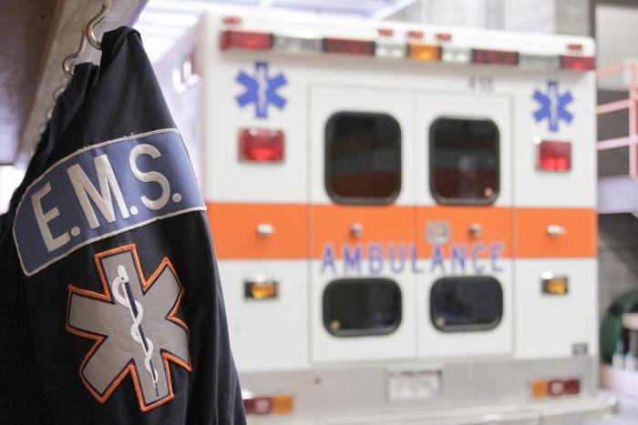 The Sewanee ambulance