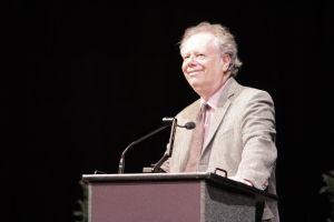 Lahr delivers his talk