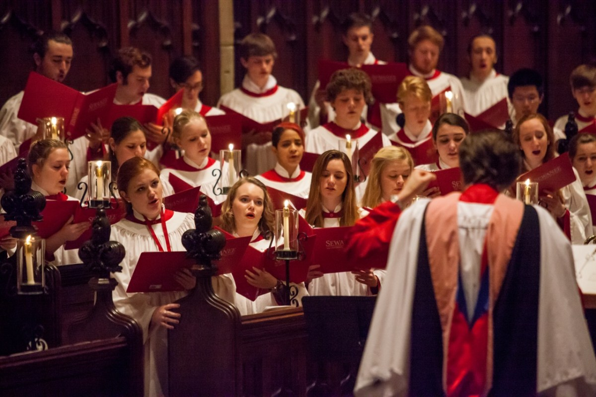 Sewanee celebrates Lessons and Carols under new Choirmaster