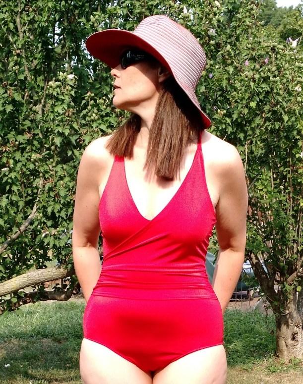 Love my Mimi G swimsuit, Simplicity 1116