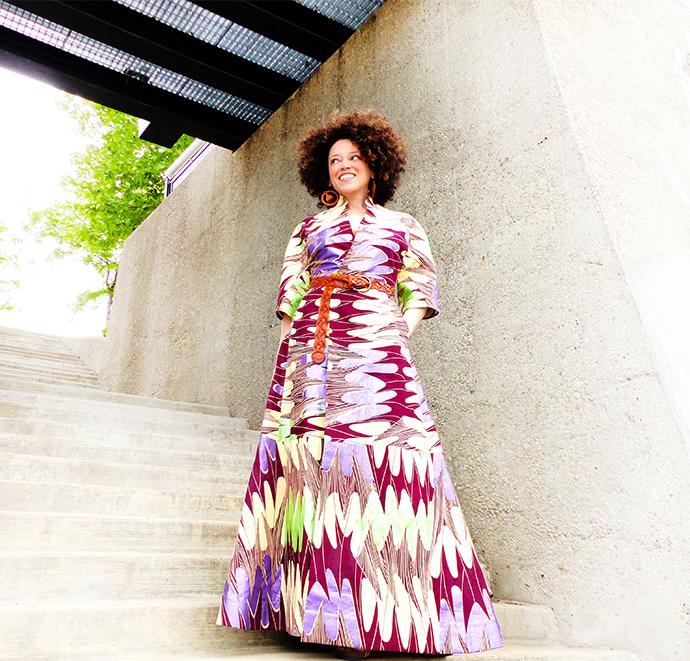 Oona maxi dress