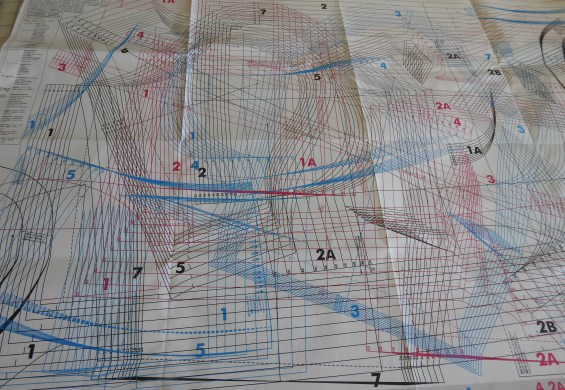 pattern sheet for the pattern I used in my Jeltje dress
