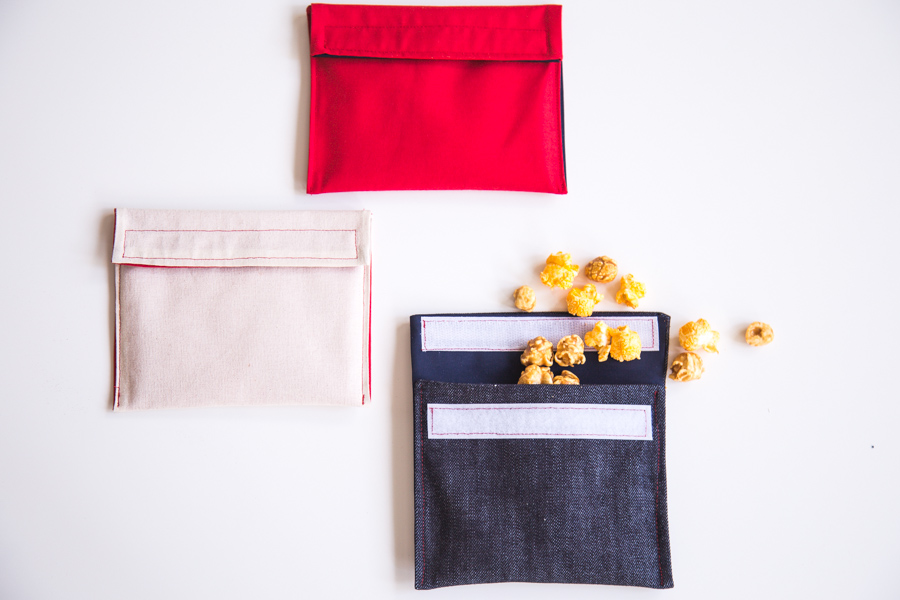 Closet Case Files Image: Snack Bags Tutorial