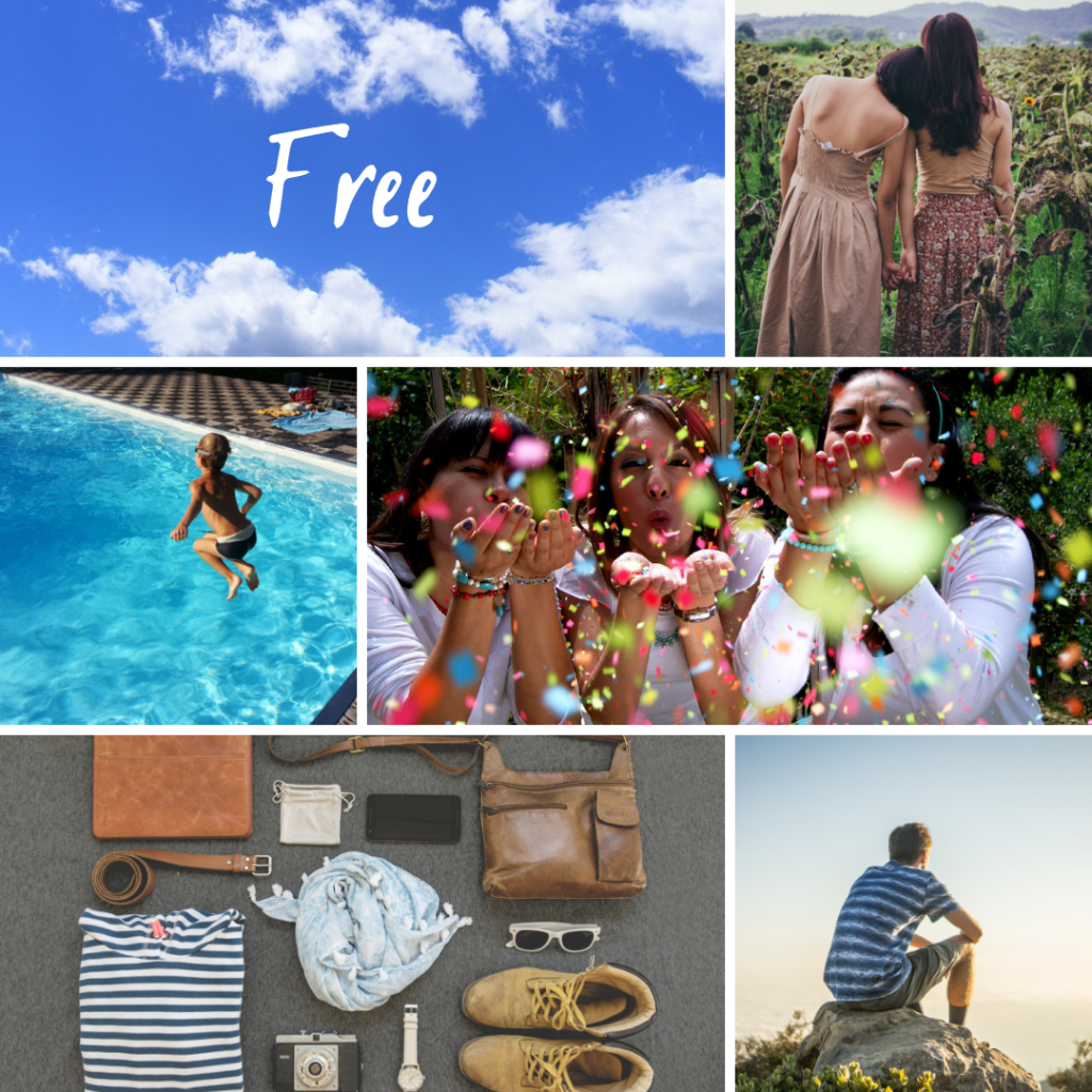 Free image mood board