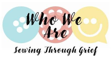Sewing Through Grief logo
