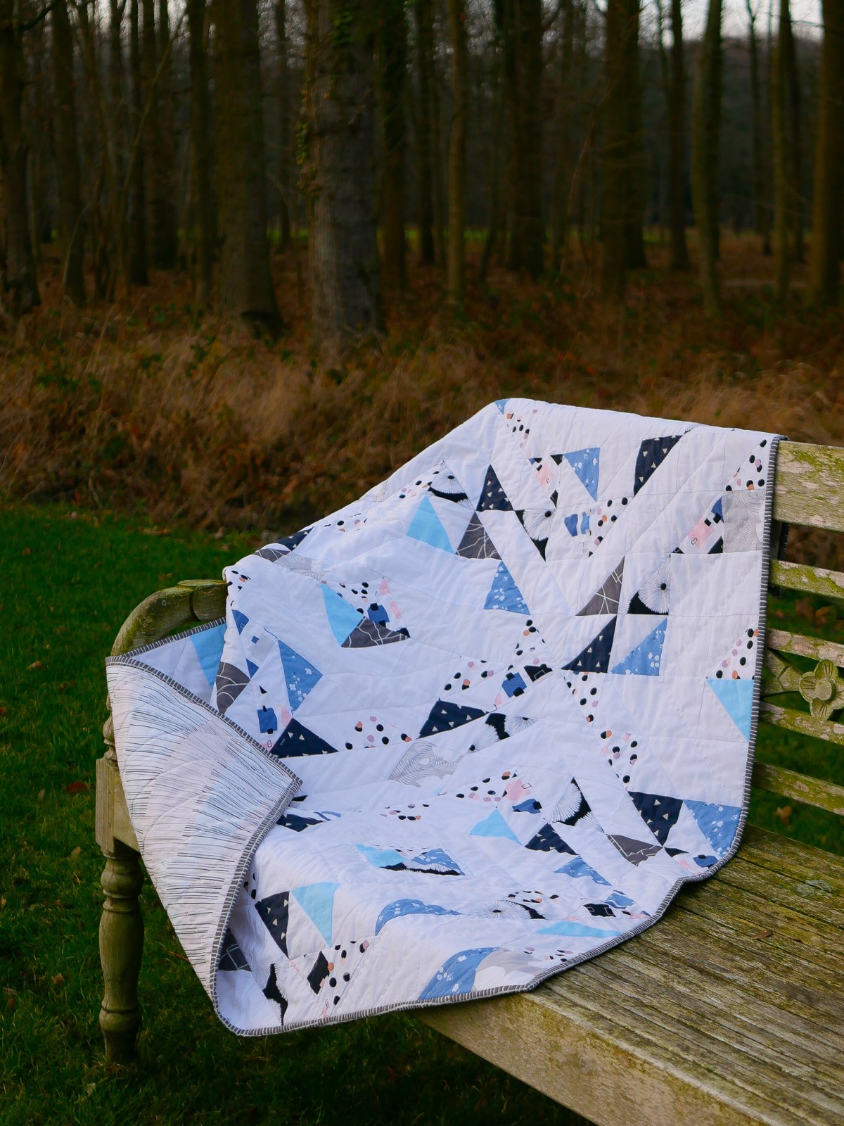 Time to sew baby quilt for charity