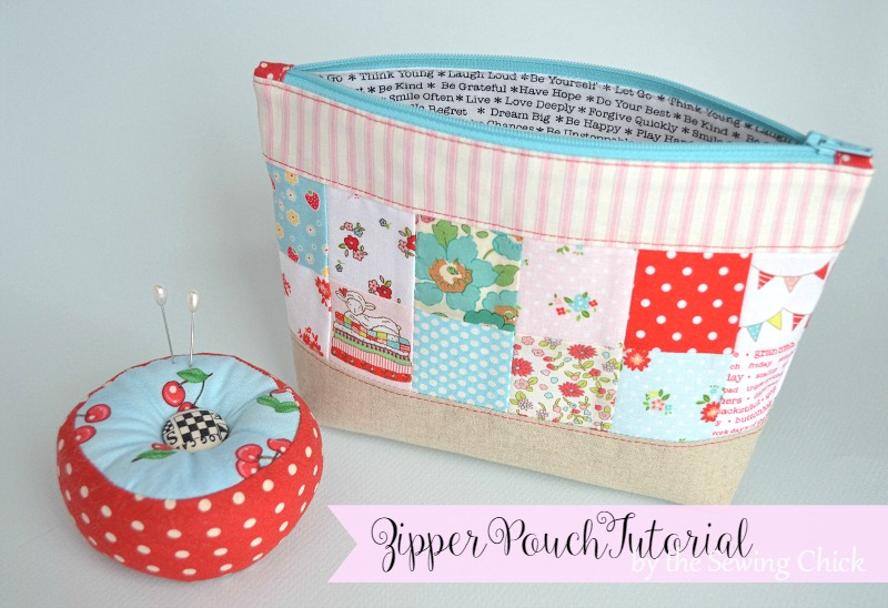 Cosmetic bag sewing pattern free
