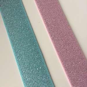 Elastiek 25mm licht roze of mint