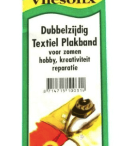 Vliesofix dubbelzijdig textiel plakband
