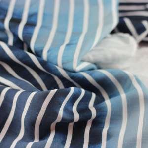 Gradiant stripes paneel-viscose