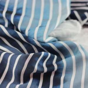 Gradiant stripes paneel-viscose