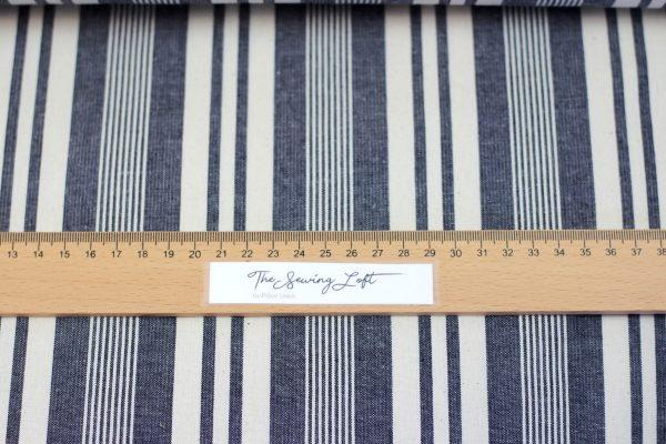 Raw denim stripes