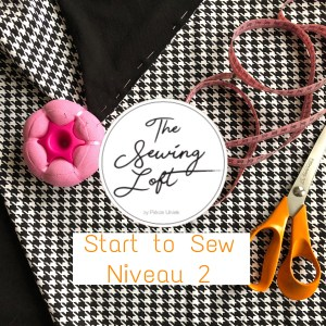 Start to sew NIVEAU 2:  4x don middag vanaf 7mei