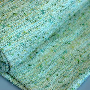 Lime coco- tweed jacquard