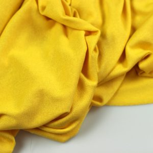 Bright yellow- viscose tricot