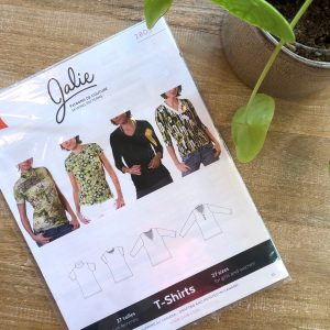 T-shirts 4 types, 27 maten- Jalie patterns