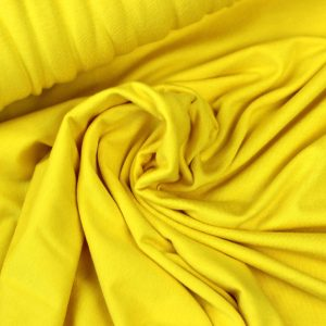 Pop of yellow- viscose tricot