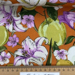 FlowerFruit Orange – katoen stretch