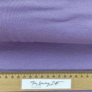 Lavender -viscose tricot