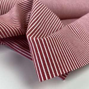 Red Oshkosh stripes – denim