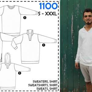 Mannen sweater S-XXXL – It's a fits #1100
