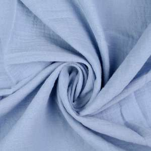 Fresh blue double gauze- tetra
