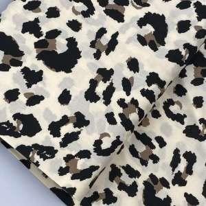 Minimal Leopard- viscose