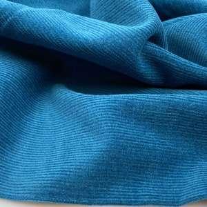 Petrol Blue- Washed Ribfluweel Corduroy