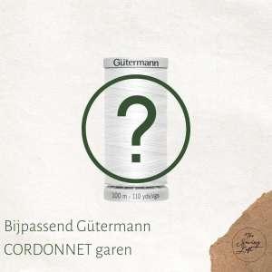 Bijpassend Gütermann CORDONNET garen