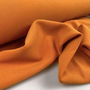 Bright orange- scuba crêpe