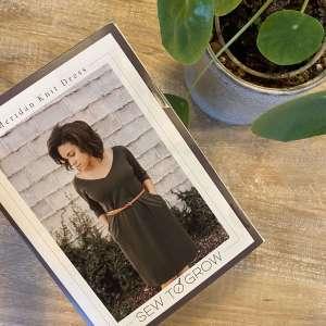 Meridan Knit dress- Sew To Grow