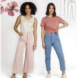 Dawn jeans- Megan nielsen patterns