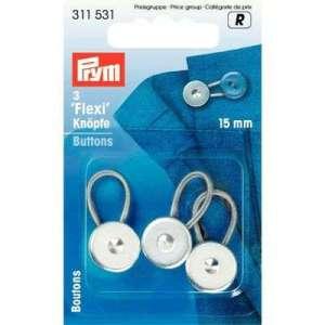 3 flexi knopen – 15mm