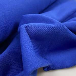 Electric blue – French terry coupon 32cm