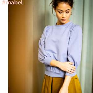 Mabel- Organic sweater COUPON 35 cm