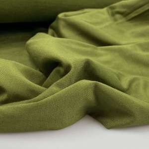 Olive  – bamboo tricot