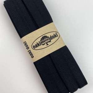 Zwart 100-Tricot Biais