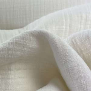 Soft White Linnen double gauze- tetra
