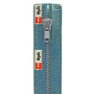Deelbare metaalrits 25cm -blauw 235
