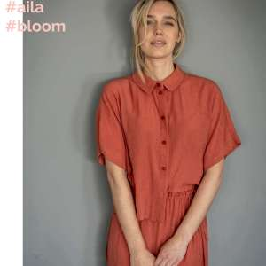 Pleated Aila Bloom -viscose