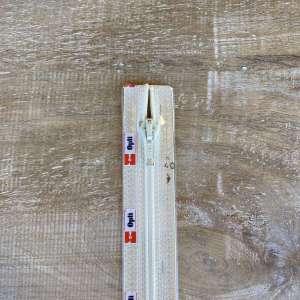 Spiraalrits deelbaar 40cm cream col 0869