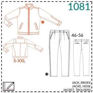 Mannen broek en jack- It's a fits #1081