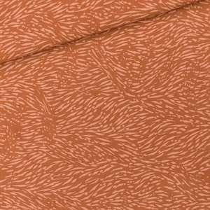 Amber brown- viscose rol 1