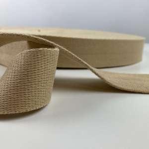 Tassenband beige 40 mm