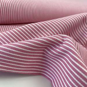 Pink Oshkosh stripes – denim